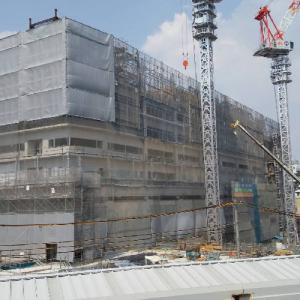 200907-現場6(JR新今宮駅前に建設するホテル「OMO7(おもせぶん)」)
