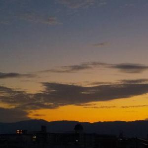 わが町から見た「日の出」22      2020.09.09
