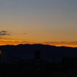 わが町から見た「日の出」23      2020.09.22