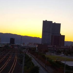 わが町から見た「日の出」28    2020.10.25