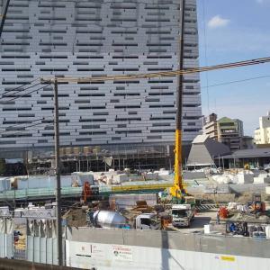 210831-現場11(JR新今宮駅前に建設するホテル「OMO7(おもせぶん)」)