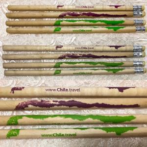 細長〜い国、チリの鉛筆