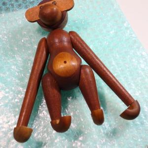 カイボイスンのお猿さんの修理