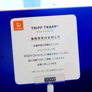 2月1日からトリップトラップ本体など価格改定