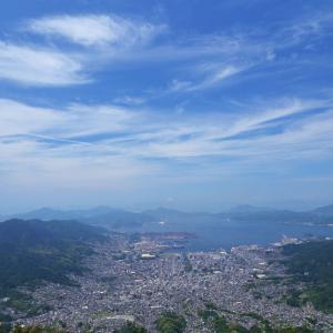 灰ヶ峰からの風景