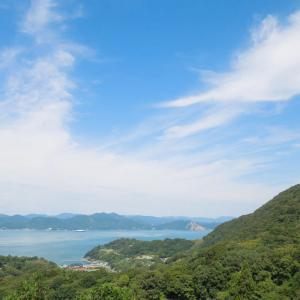上蒲刈 七国見山中腹からの風景 5/5