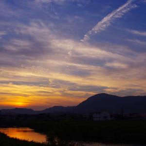 黒瀬の夕景