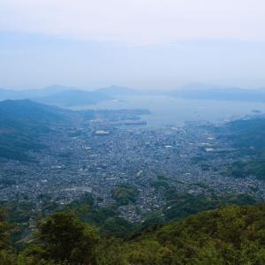 灰ヶ峰から瀬戸の風景