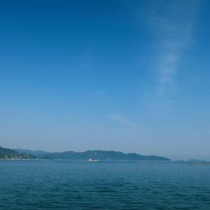 阿賀マリノから瀬戸の風景