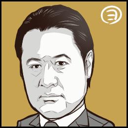 TBSドラマ「集団左遷」から、小手伸也さんの似顔絵です