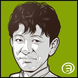 TBSドラマ「グランメゾン東京」から、木村拓哉さんの似顔絵です。