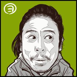 なすDこと、友寄隆英さんの似顔絵です