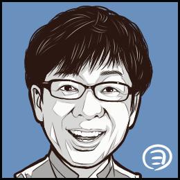 声優・山寺宏一さんの似顔絵です