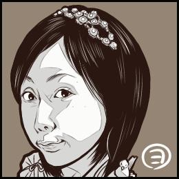 ドラマ「勇者ヨシヒコと魔王の城」から、木南晴夏さんの似顔絵です