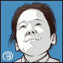 映画「いつか読書する日」から、田中裕子さんの似顔絵です