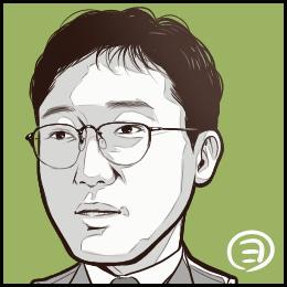 映画「毎日が夏休み」から、佐野史郎さんの似顔絵です