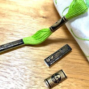 刺繍糸が足らない‥ ハヤトウリ