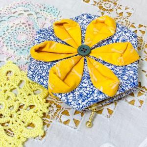 折り紙キルトのポーチ〜