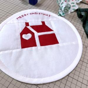 クリスマス作品を作られてます~