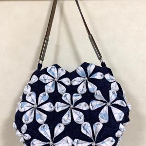 折り紙キルトのミニバッグ〜