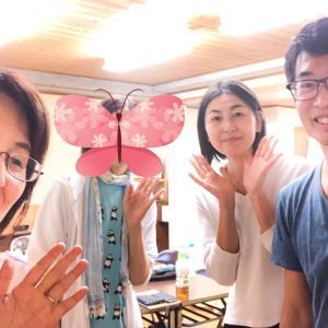 9月の岡市さんのボディセッションが終わりました