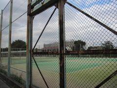 小金井北校のテニスコート