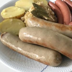 ドイツ風ソーセージとレンズ豆のスープ(農夫のスープ)