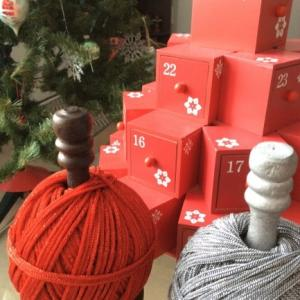 クリスマスのインテリア小物たち