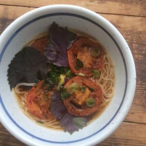 焼きトマト素麺