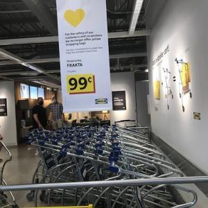 IKEAで買ってしまったソファー^^;