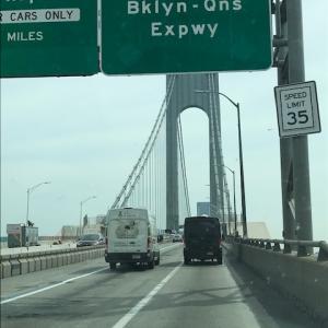 週末ドライブ ブルックリン橋