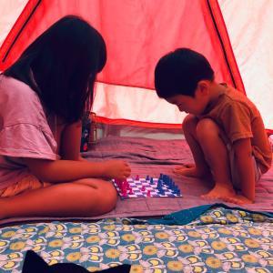 キャンプと収穫②