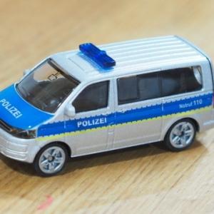 ★SIKU SK1350: Police team Van~パトカーバン、ドイツ発ミニカー・ジクのレビュー