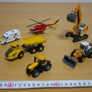 ★SIKU廉価版?KAIDIWEIのミニカーが安い!~建機、トラック、消防車、種類も豊富!