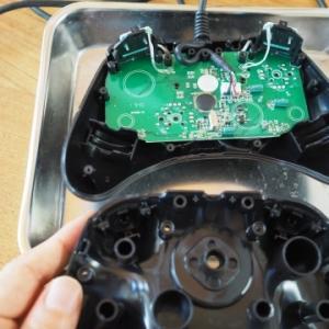 ★スイッチ用ホリパッド(有線)を自前で分解修理~Rボタンが動かなくなった!原因は?