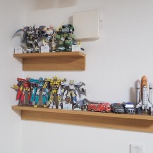 ★子供の工作を飾る「作品展示棚」を設置!~無印良品「壁に付けられる家具」シリーズの取り付け方法