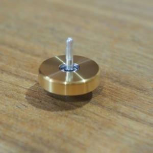 ★ボールベアリング内蔵!直径2センチのジャイロスコープ「YenSpin」(小さな地球ゴマ)