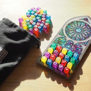 ★ボードゲーム「サグラダ(Sagrada)」買いました~カラフルなサイコロでステンドグラスを作ろう!