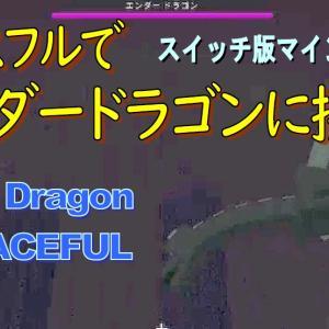 ★スイッチ版マイクラ(統合版):ピースフルでエンダードラゴンと戦う! ドラゴンブレスは入手できるか?