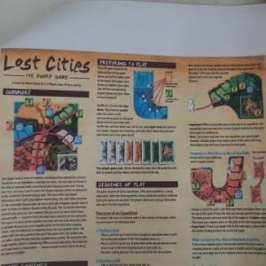 ★カードで遺跡探検「ロストシティ:ボードゲーム」を買うべきか?~ボードゲームのルール・遊びやすさ・入手性の詳細検討