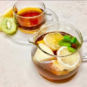 2月6日のパックンヘルシー紹介レシピ「フルーツスパイスティー」