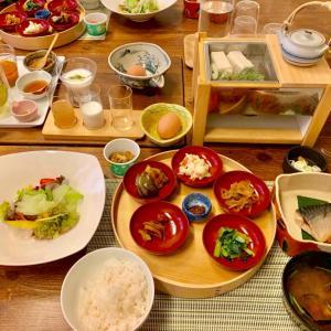 お盆休みプチ旅行⑤ 「おとぎの宿・米屋」 〜きれいになる朝食〜