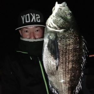 浜名湖黒鯛の釣果投稿頂きました