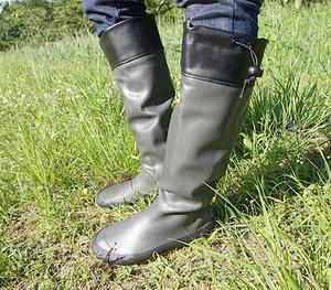 オカッパリで使える長靴 モバイルフレックスブーツ メガバス 野鳥の会