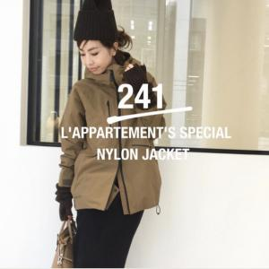 L'Appartement special orderのジャケにワンピと可愛い新作♡