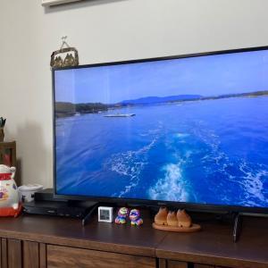 ようやくテレビが来ました…(^O^)/
