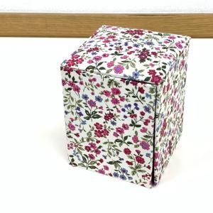 生徒さん作品、3段の箱、ソーイングボックス、ティッシュボックス