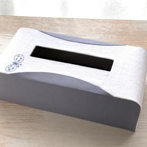 流線型のティッシュボックス