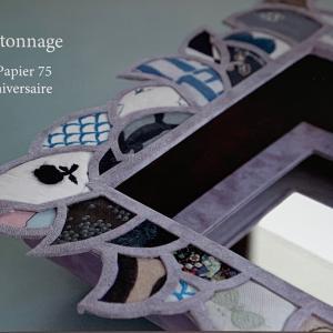 カルトナージュ作品展始まります。ピュアモリスで作った販売作品出します。