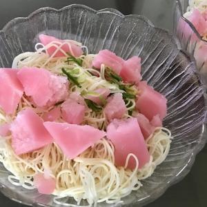 ガリガリ君うめ素麺♪